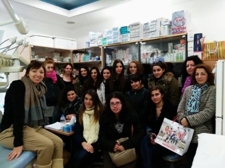 Εκπαιδευτικές επισκέψεις της ειδικότητας «Βοηθός Φαρμακείου» (Δελτίο Τύπου)