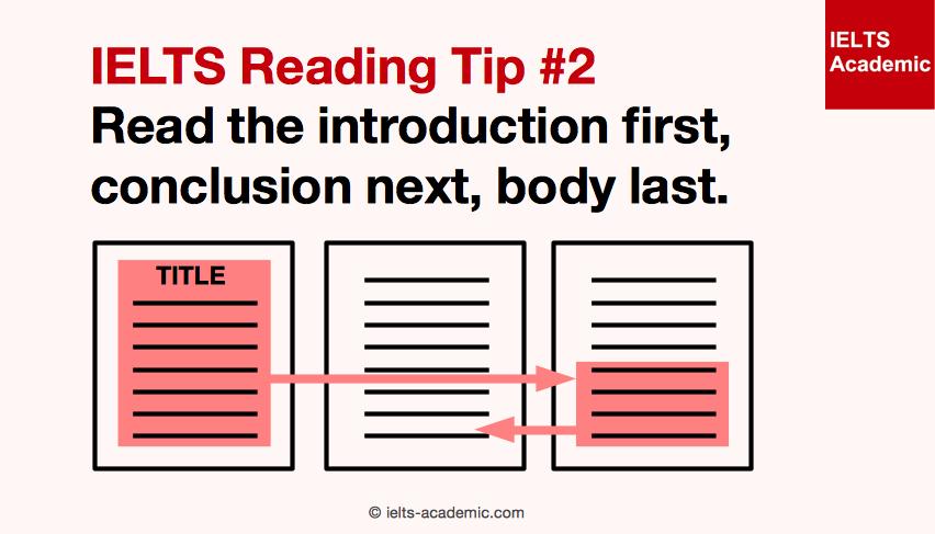 IELTS Reading Tip 2