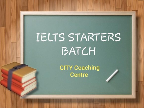 IELTS Starters Batch