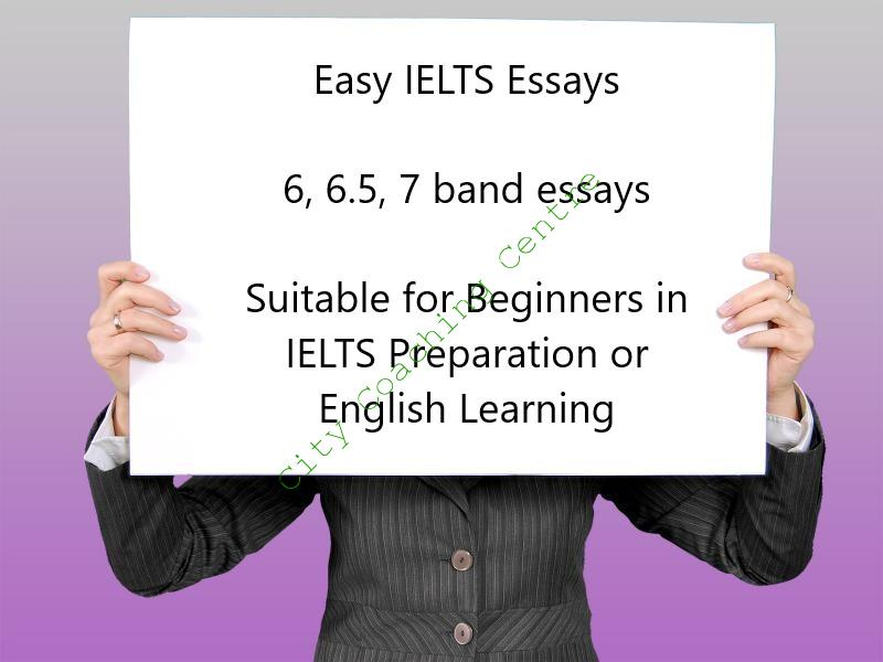 IELTS 7 band essays