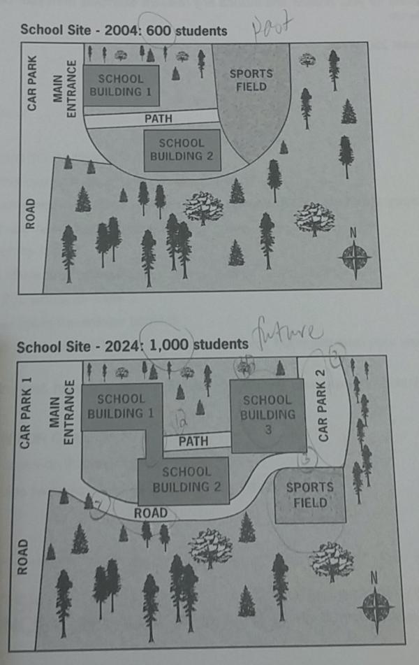 Ielts Writing Task 1 School Buildings Answer Ielts