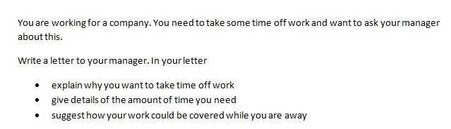 IELTS letter writing tips 3