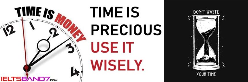 Writing Task 2: Essay on ' Time is Money ' Best IELTS Band 7 Coaching in Dehradun