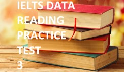 ieltsdata reading practice test 3 E-training recent exam reading