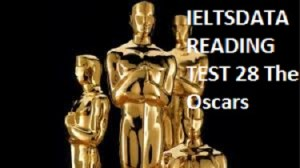 IELTSDATA READING TEST 28 The Oscars