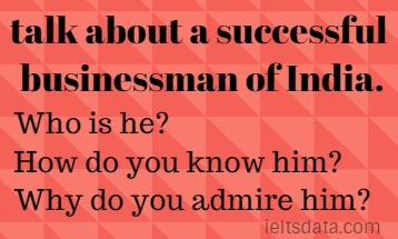 talk about a successful businessman of India.