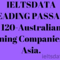 IELTSDATA READING PASSAGE 120-Australian Mining Companies In Asia.