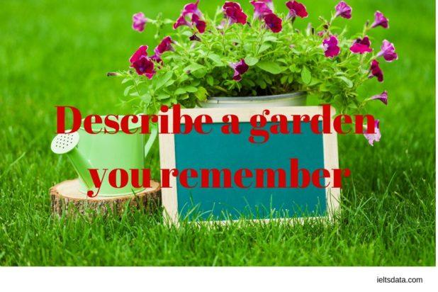 a garden you remember