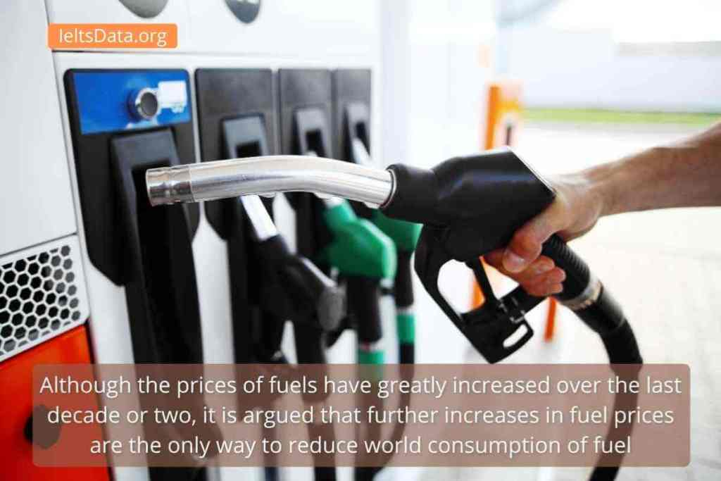 Although the Prices of Fuels Have Greatly Increased Over the Last Decade or Two