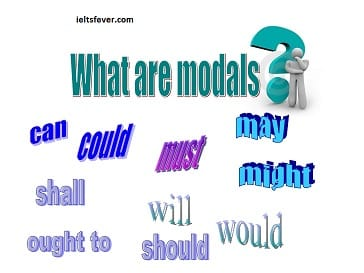 What are modals? English grammar ielts exam