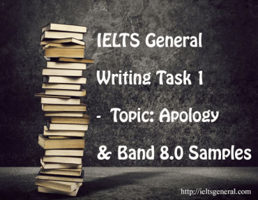 ieltsgeneral.com - IELTS Writing Task 1 for General Training - Topic Apology