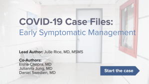 Early Symptomatic Management COVID-19