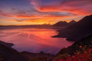 sunrise, water, dawn