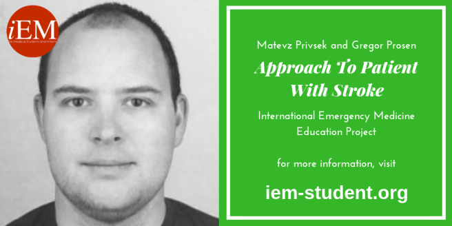 Matevz Privsek - approach to stroke