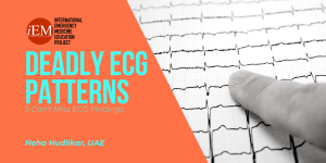 5 Can't Miss ECG findings
