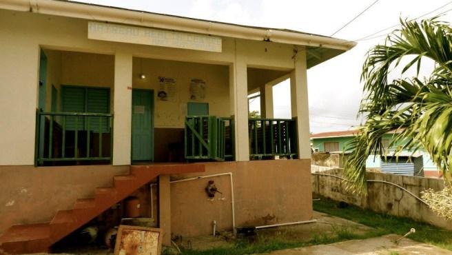 Medical clinic on Station Hill, Mayreau Island