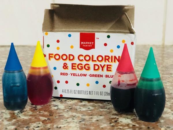 Food coloring dye