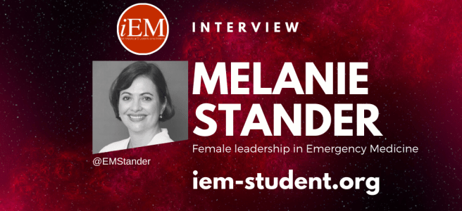 Female leadership in Emergency Medicine - Melanie Stander MD