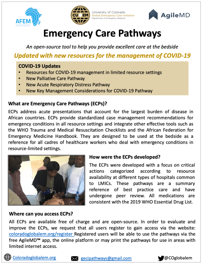 Emergency Care Pathway