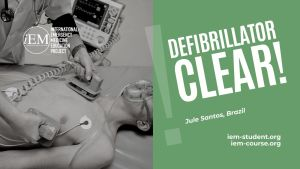 Defibrillator clear