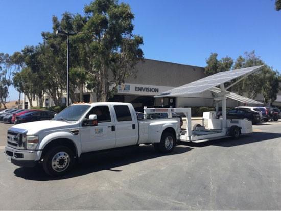 สถานีชาร์ทไฟของรถยนต์ไฟฟ้า(EV) ที่ใช้พลังงานจากแสงอาทิตย์ 100 %