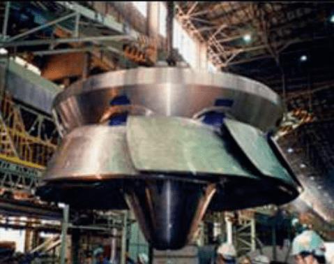 Deriaz turbine