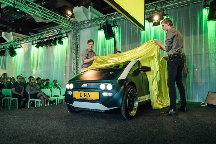 THIS BIODEGRADABLE CAR IS MADE FROM SUGAR BEET