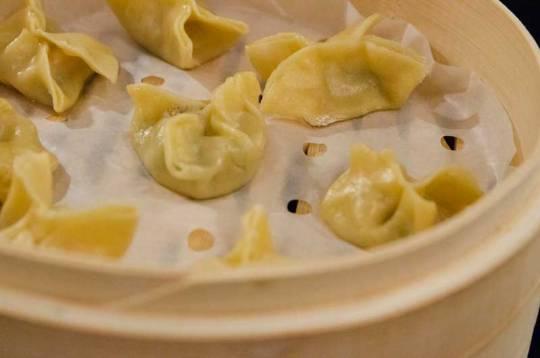 Dampkoker dumplings