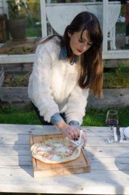 Pizza fra bakerovn får en skorpe ulik alt annet.