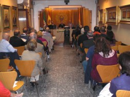 Acto de presentación del IERD en el Ateneo de Cádiz