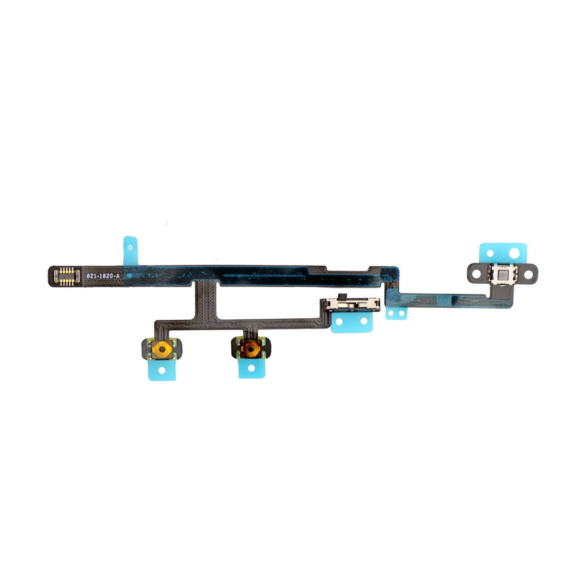 Volume Power Mute Switch Button Flex Replacement For Ipad