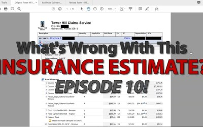 What's Wrong With This Insurance Estimate? | 10