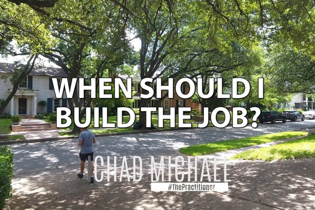 When Should I Build The Job? | Insurance Roofing Claims