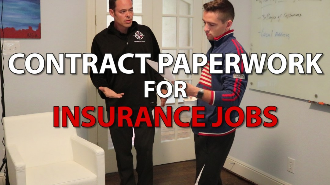 What Roofing Contract Should I Use?   Selling Insurance Jobs