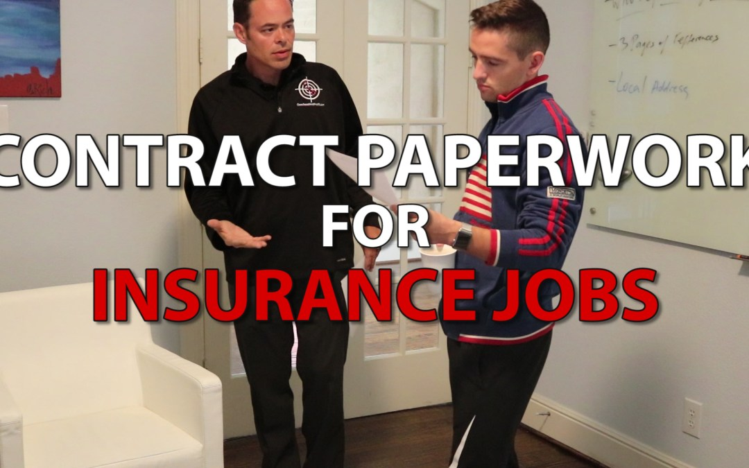 What Roofing Contract Should I Use? | Selling Insurance Jobs