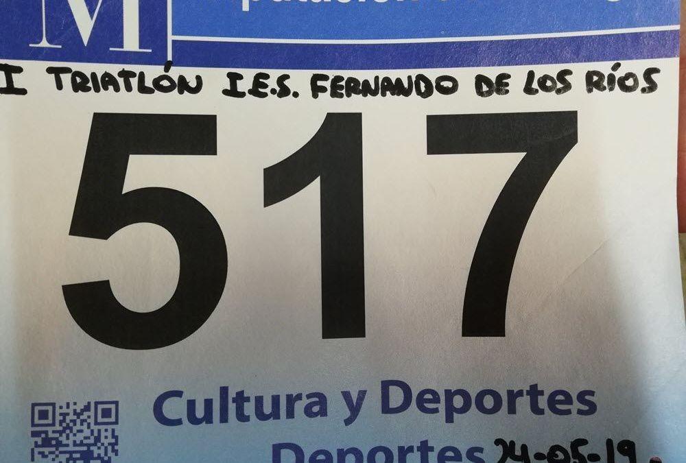 I Triatlón I.E.S Fernando de los Ríos