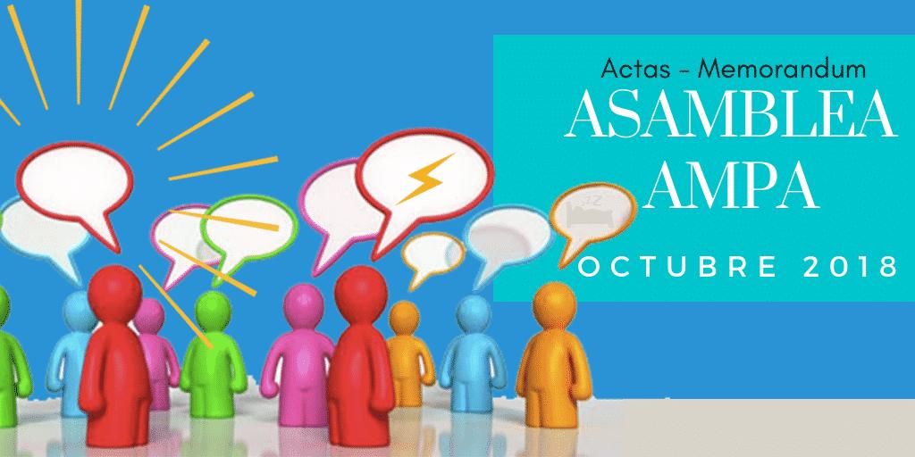 Asamblea AMPA 2018