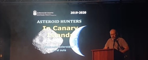 Proyecto Asteroid Hunters in Canary Islands