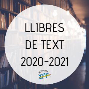 Llibres de text per al curs 2020-2021
