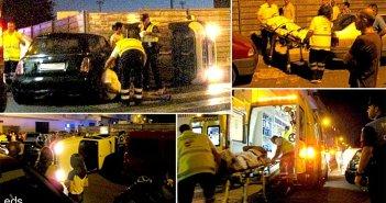 Трое пострадавших в тяжелом столкновении двух автомобилей в Fraile