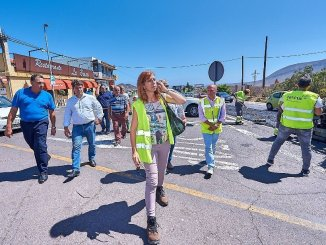 Островной Совет начинает работу по улучшению дороги между Valle San Lorenzo и Guaza