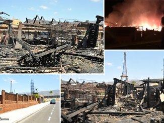 Ресторан Paris Folie´s en Playa Paraíso полностью сгорел вчера утром
