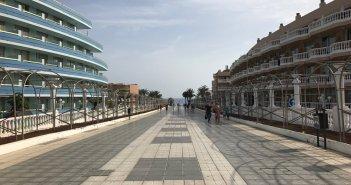 Променад Playa de Las Américas и Los Cristianos станет недоступен проходу любого транспортного средства