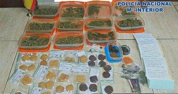 В Arona конфискована партия марихуаны, из которой незаконно изготовлялись карамельки и печенье