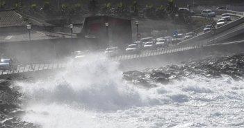 Предупреждение о сильных ветрах и волнах на островах архипелага