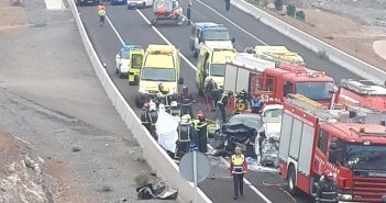 Погибла женщина после тройного столкновения в Guía de Isora