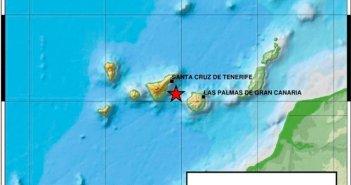 Между Тенерифе и Гран-Канария зафиксированы два землетрясения