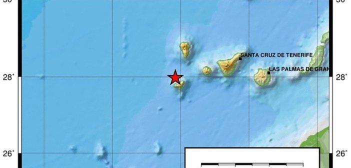 IGN регистрирует новое землетрясение, на этот раз в 3,1 балла и ближе к острову El Hierro