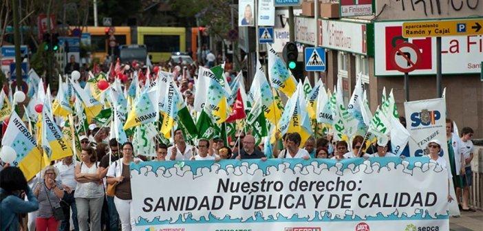 Marea Blanca зовёт на демонстрацию за улучшение общественного здравоохранения