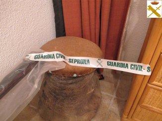 Гражданская гвардия конфисковала ногу слона в одном из домов в Adeje